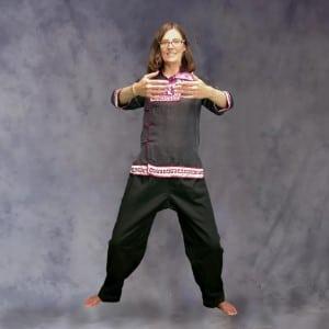 Large Hoop Posture